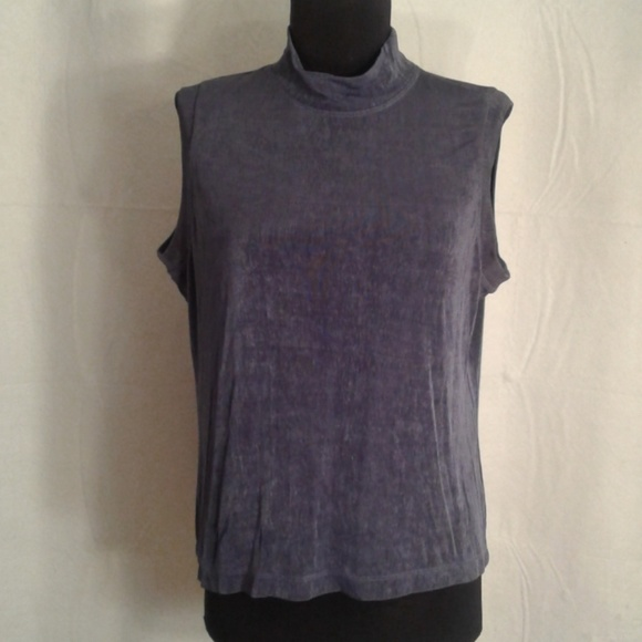 693bf64c60a24a Chico's Tops | Chicos Design 2 Slinky Knit Tank Top 12 Large | Poshmark